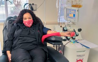 Platelet donation in Cape Town