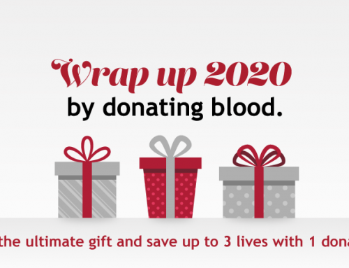 Wrap up 2020 by saving 3 lives